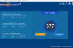 26. Halaman TOEFL Score